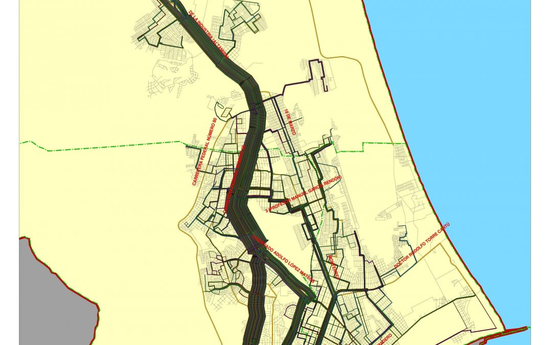STUDY FOR THE DEVELOPMENT OF AN INTEGRATED TRANSPORTATION SYSTEM FOR THE METROPOLITAN AREA OF TAMPICO – MADERO – ALTAMIRA, IN THE STATE OF TAMAULIPAS (FROM OCTOBER 10, 2019 TO PRESENT)