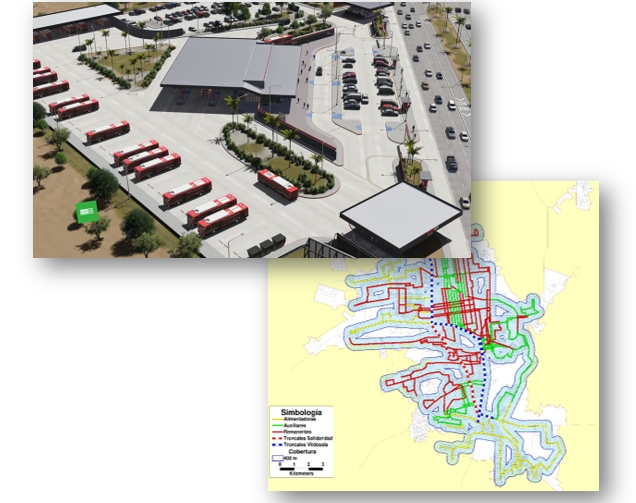 Plan Integral de Movilidad Urbana Sustentable de la Ciudad de Hermosillo, Sonora (2017-2018)